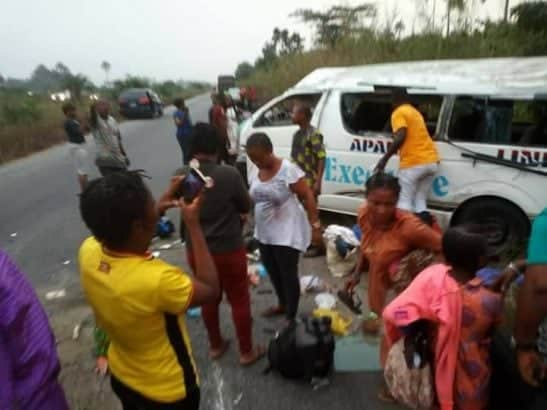 Photo of Winners Chapel members involved in accident while returning from Shiloh (photos)