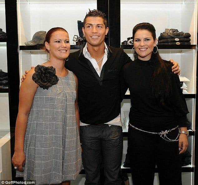 ronaldo's sisters