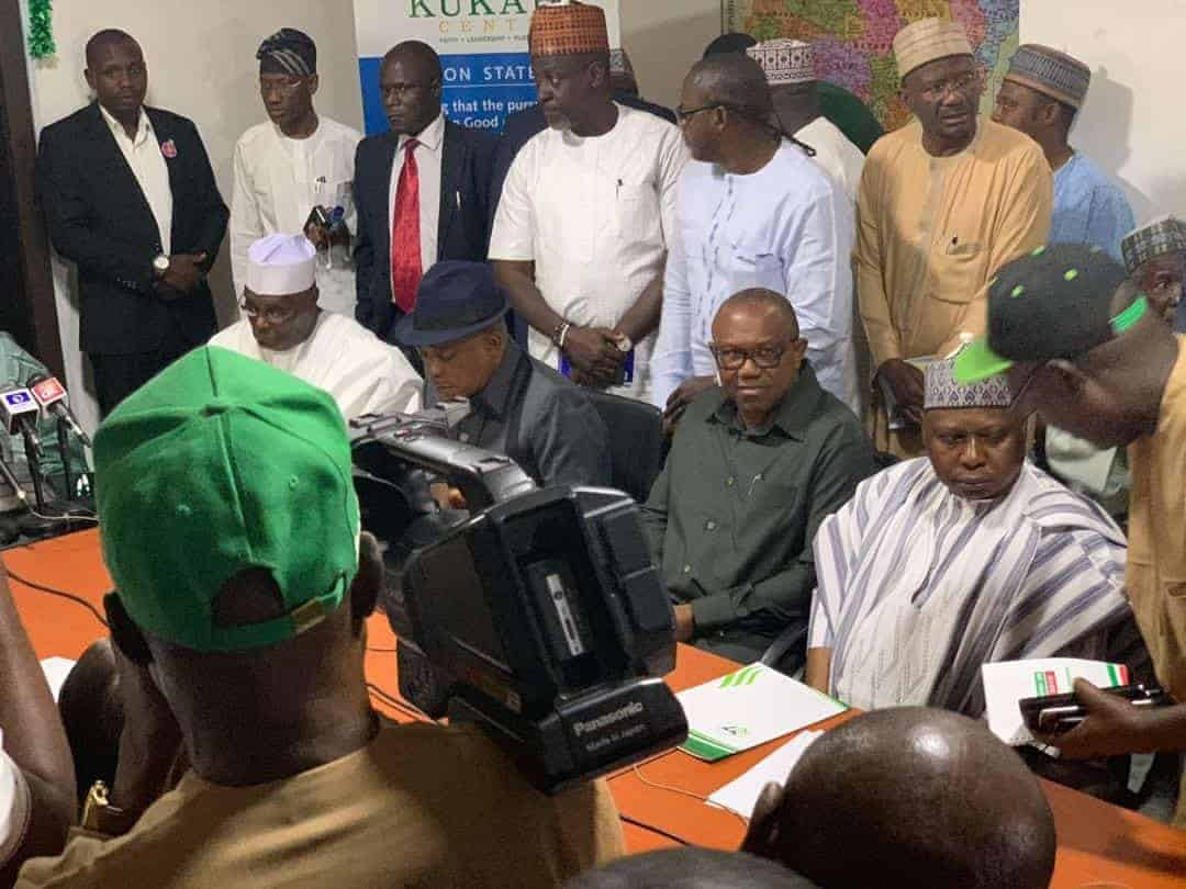 Photo of The moment Atiku signed the National Peace Accord