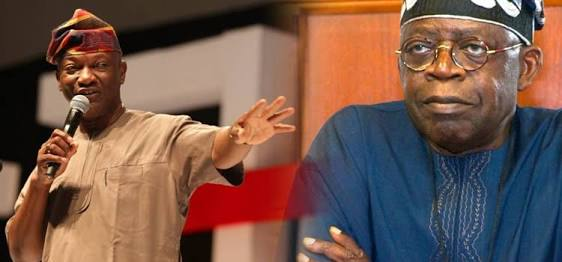 Photo of Tinubu to Agbaje: Go and learn vulcanizer, we'll do freedom for you
