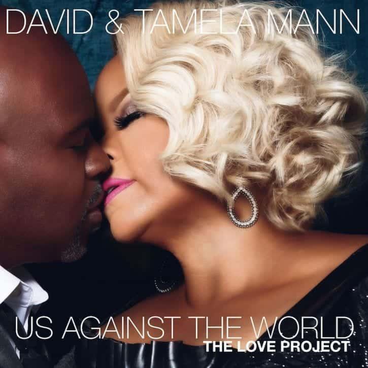 Photo of Gospel artiste, Tamela Mann and husband release album for Christians to make love to