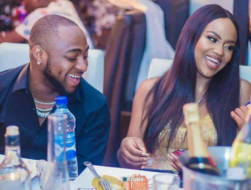 Photo of Davido's girlfriend, Chioma fires back as fan mocked her for having bad teeth