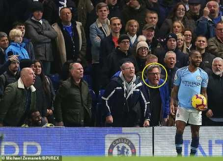 Photo of Chelsea fan admits he verbally insulted Raheem Sterling