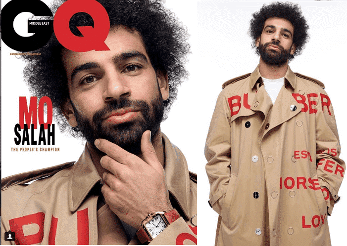 Photo of African best footballer Mohamed Salah covers GQ Magazine (Photos)