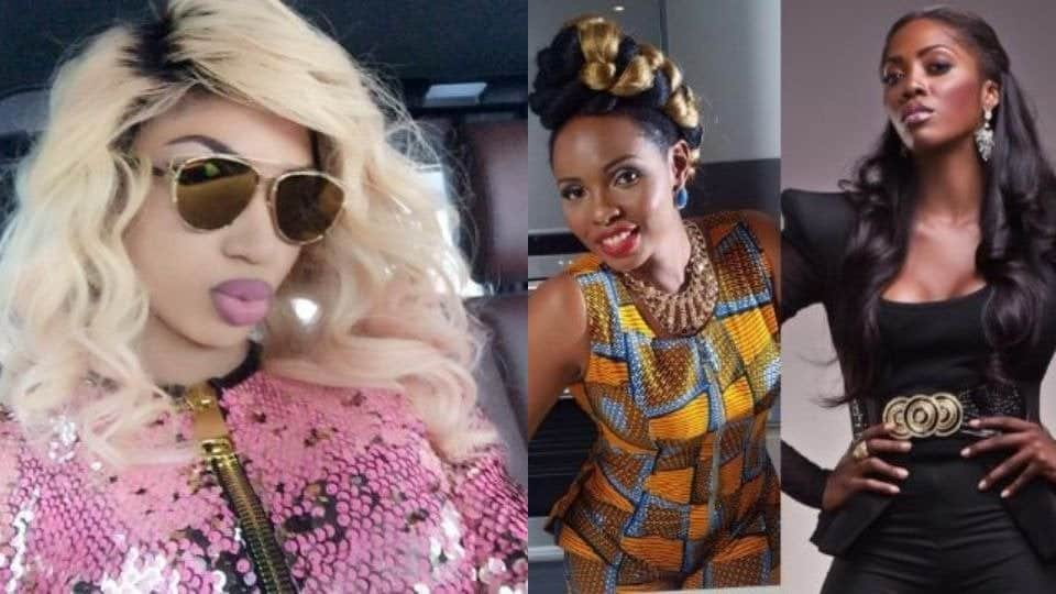 Photo of Dencia mocks the cat fight between Tiwa Savage and Yemi Alade over photoshopped butt
