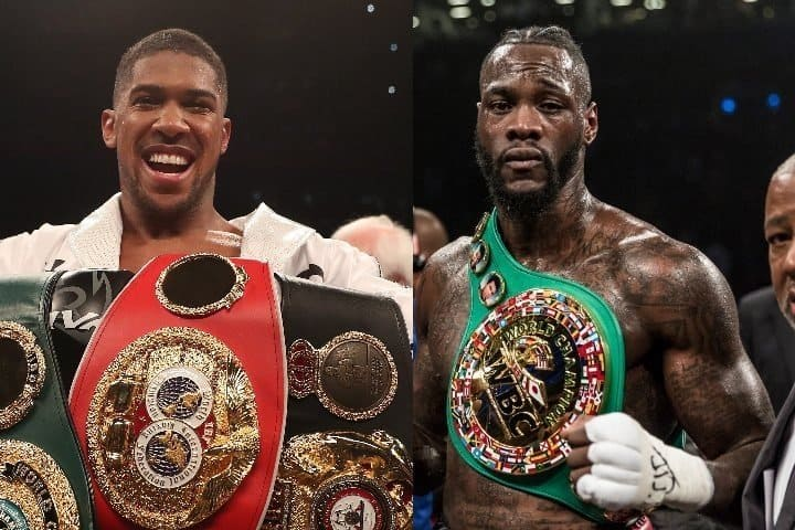 Photo of Anthony Joshua says he wants to fight Deontay Wilder in April