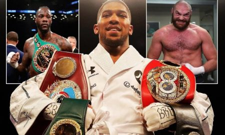 Anthony Joshua slams Wilder, says he's ready to fight either him or Fury next