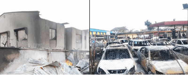 Photo of Abule Egba pipeline fire: How 63 vehicles, 98 shops got burnt…Victims inconsolable