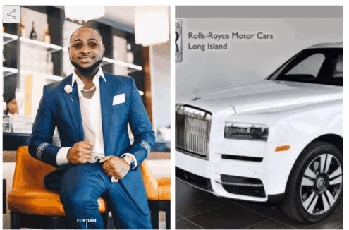 Photo of Yuletide: Davido gifts himself Rolls-Royce Cullinan 2019 worth 350 million Naira