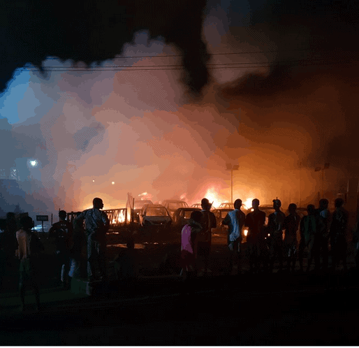 Photo of More photos, videos from Abule Egba pipeline explosion