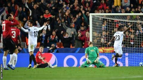 Photo of Champions League: Manchester United lose against Valencia to miss out on top spot