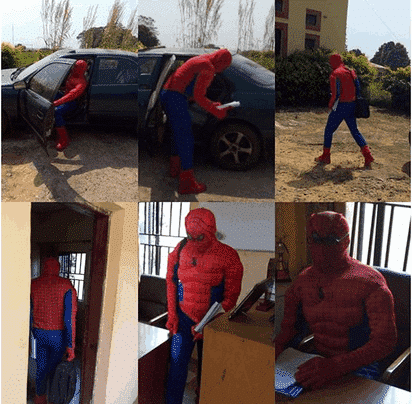 Photo of ASUU Strike: Lecturer transforms to a Spider man to save students