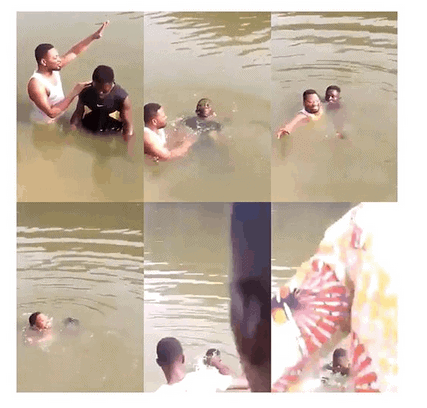 Photo of Pastor arrested, as member drowns during baptism