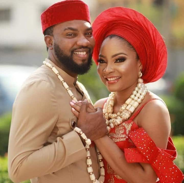 Photo of Checkout the marital advice Banky W dished out to newly wed, Ibrahim Suleiman