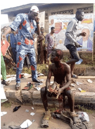 Photo of Angry mob nab ritualist with human parts