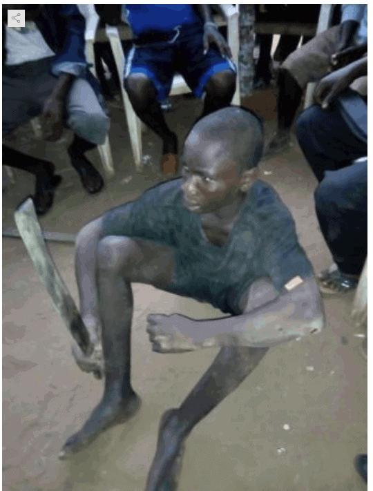 Photo of Teenage ritualist arrested on mission to behead victim