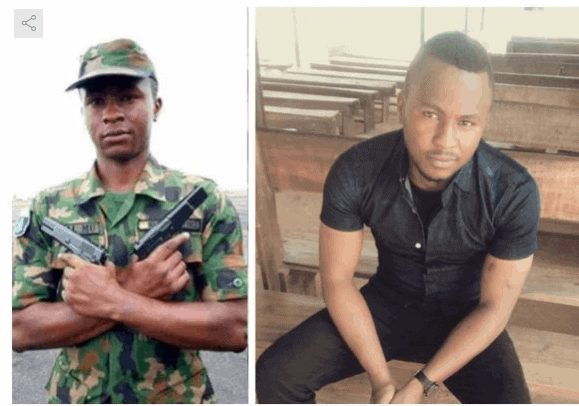 Photo of Young Air Force personnel shot dead by policeman