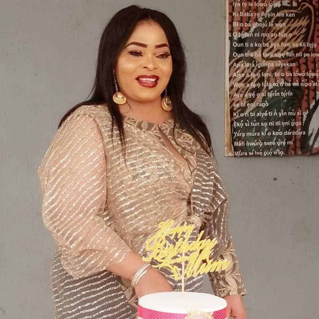 Photo of Actress Toyin Adegbola celebrates 57th birthday with less privileged kids