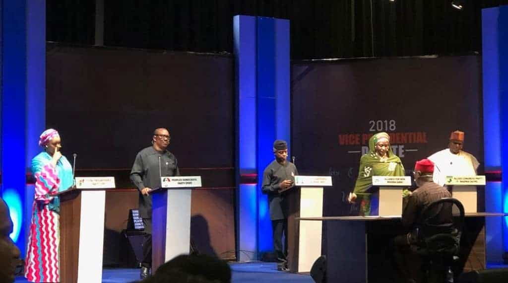 Photo of 2019: Highlights of the Vice Presidential debate