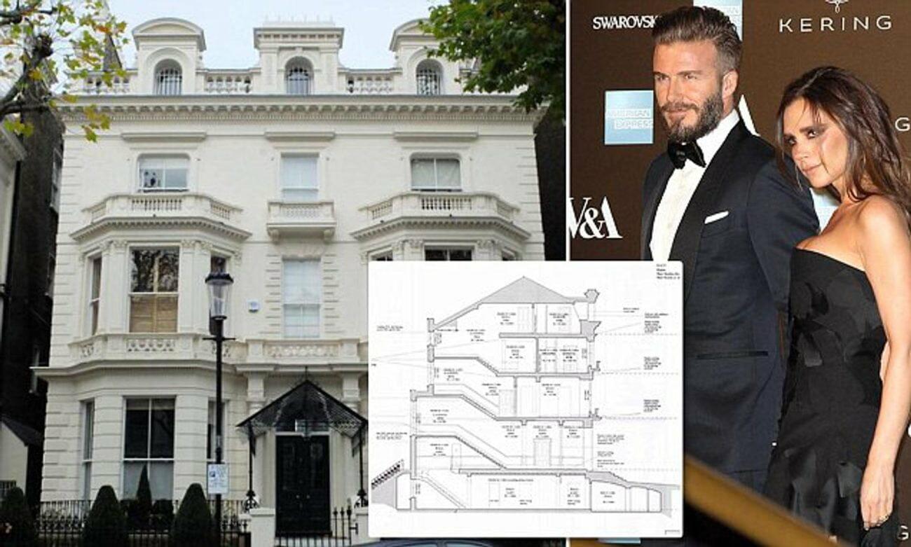 Victoria Beckham £31.5million London Mansion