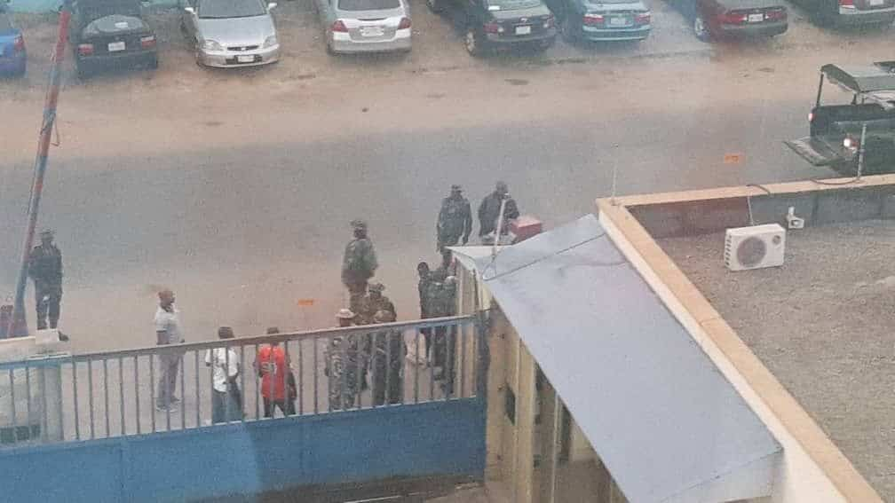 Photo of Armed soldiers invade Daily Trust office in Abuja