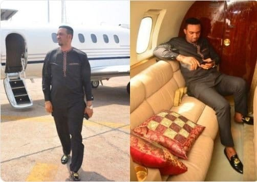 Photo of Private jet reportedly owned by Pastor Chris Okafor is not his but a chartered jet