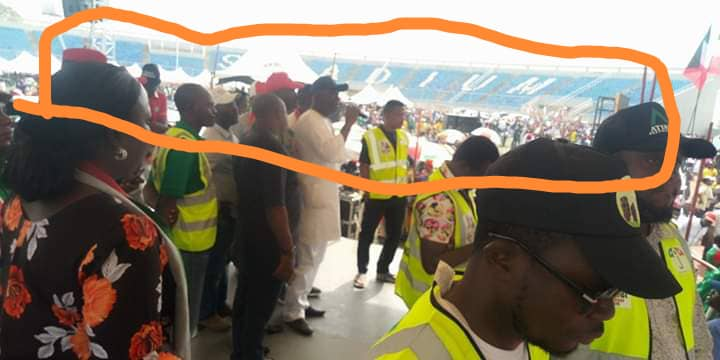 Photo of Photos of empty seats at PDP mega rally in Lokoja Kogi State