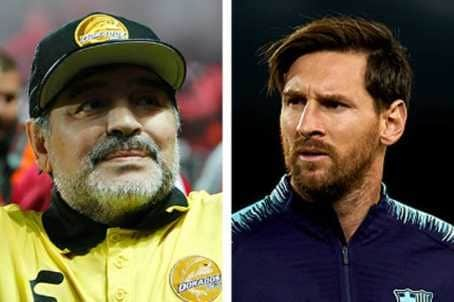 Photo of Messing can never be a leader in his life – Maradona