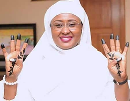Photo of Real reason why President Buhari's wife, Aisha is no longer campaigning for him
