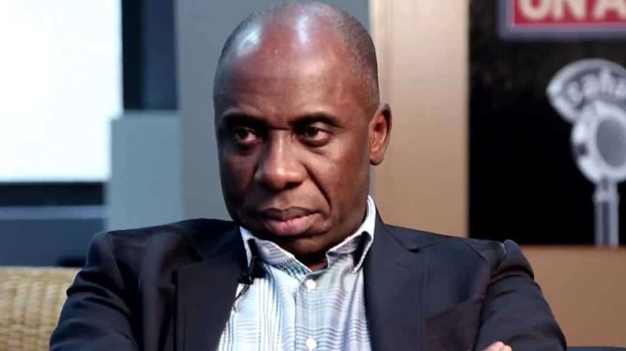 Photo of Amaechi's wife speaks on leaked audio tape,  begs women to pray for her husband