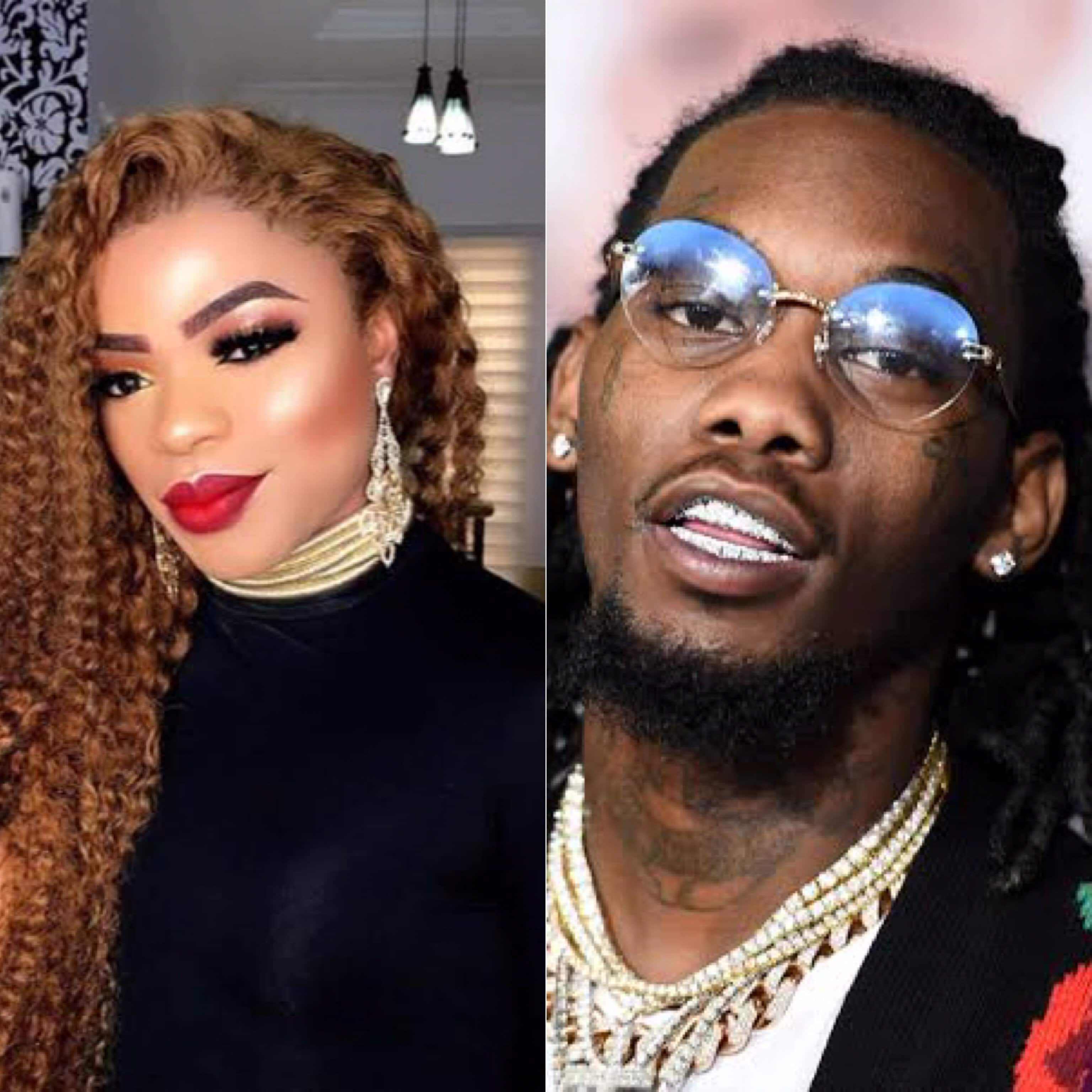 Photo of Bobrisky dreams of dating Migos rapper, Offset