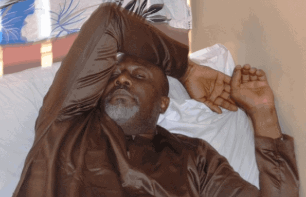 Photo of Dino Melaye speaks from hospital, insists his Blood pressure is high (Video)