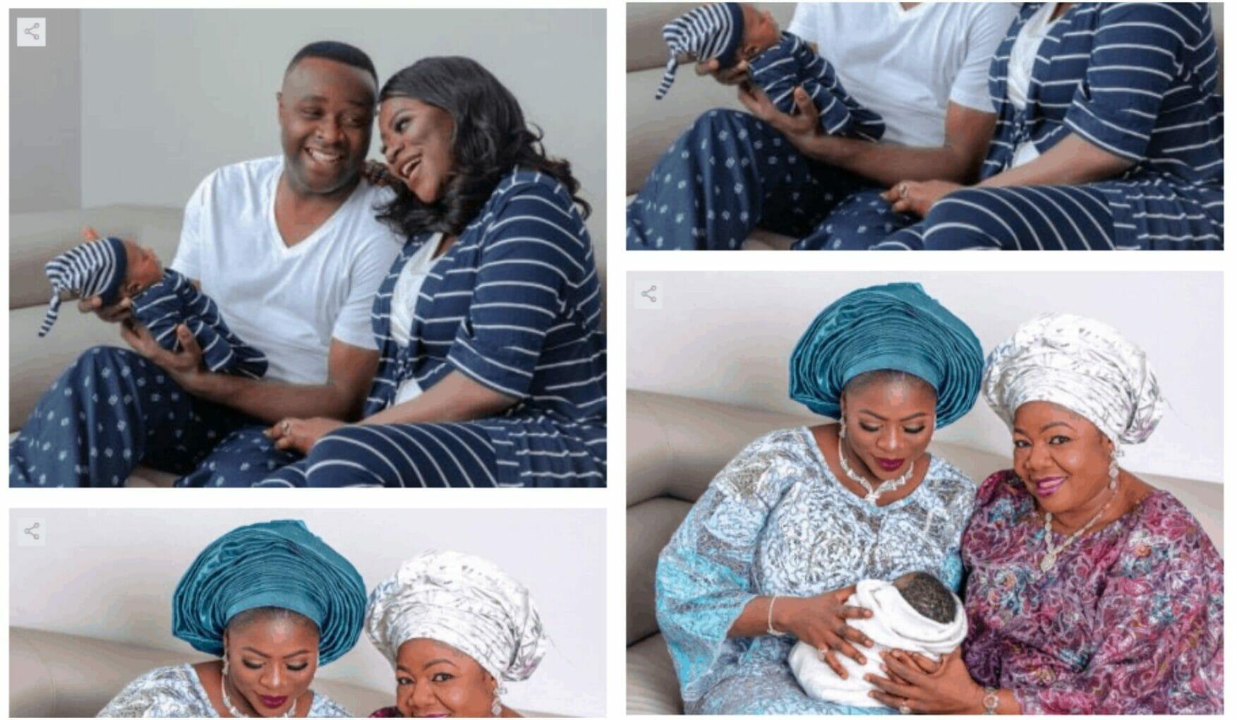 Femi Adebayo's first child