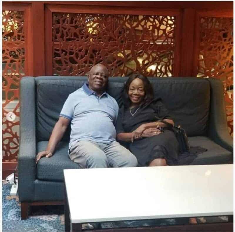 Photo of How Linda Ikeji celebrated her parent's 40th wedding anniversary (Photo)