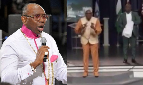 Photo of Pastor Oritsejafor instructs church members to pay $5,000 for mantle to see God