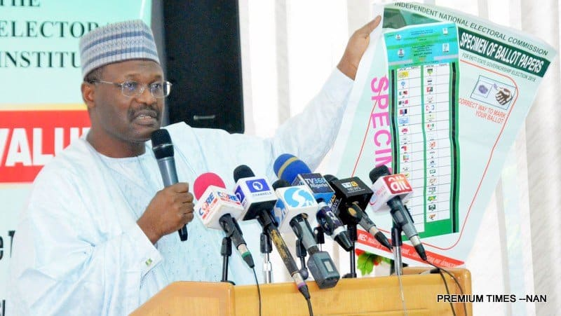 Photo of 2019 election: INEC reveals total number of Nigerians that will vote