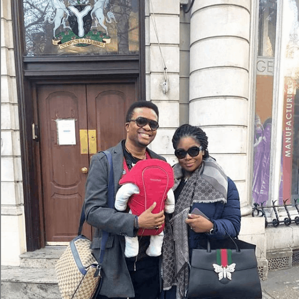 Photo of Please don't kiss my baby – Toolz appeals to Nigerians, see why