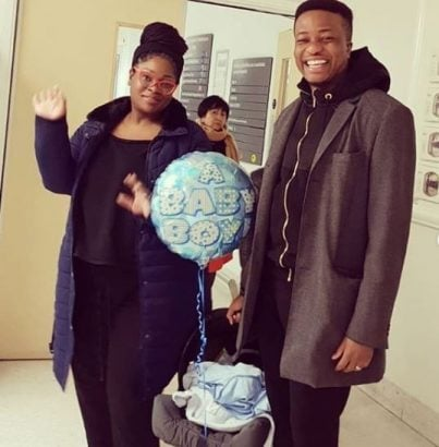 Photo of Husband reveals how Toolz left her career, business & home for their baby