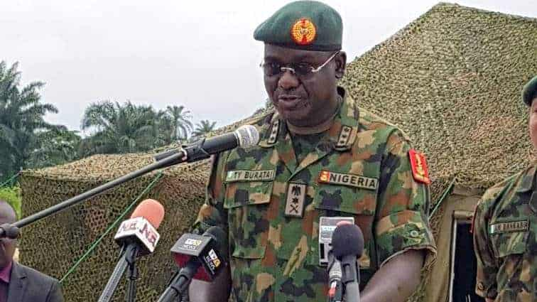 Photo of Nigerian army explains why it invaded Daily Trust office