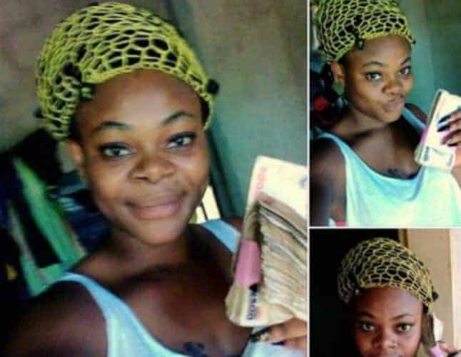 Photo of Lady slams poor guys after her boyfriend gave her N100k for ice cream