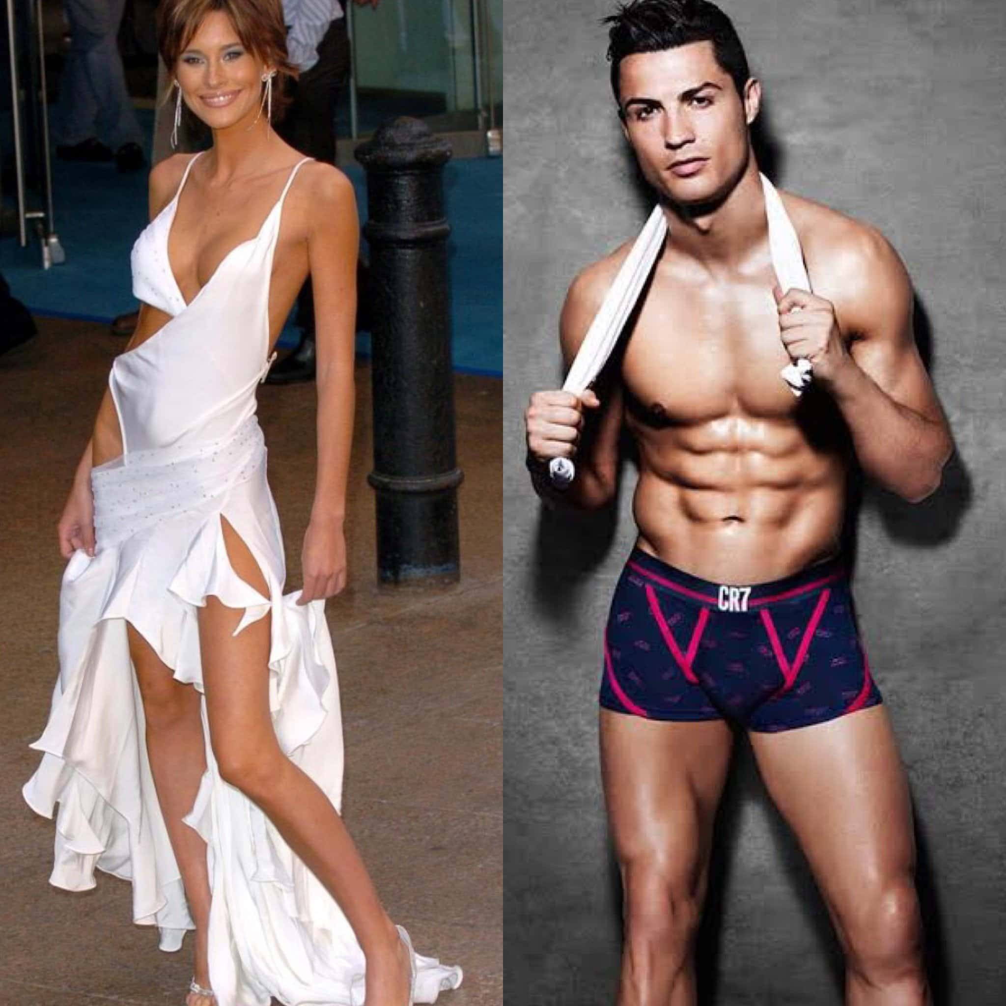 Photo of Lady who dated Ronaldo 10 years ago reveals shocking accusations against him