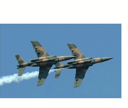 Photo of Nigerian Air Force helicopter crashes during fight against Boko Haram