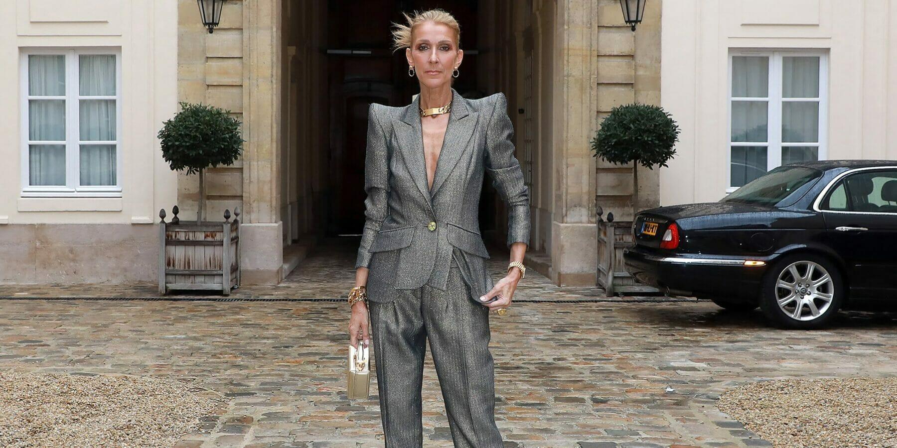 Celine Dion's new look