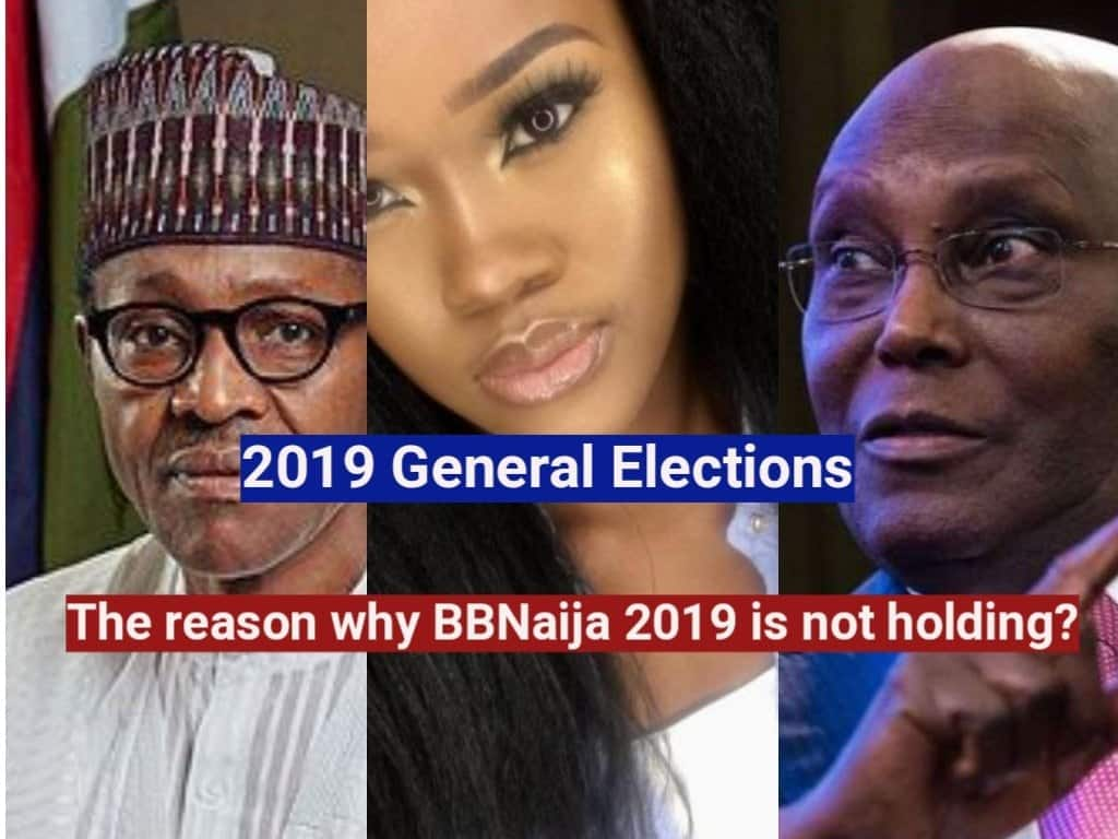 Photo of 2019 General elections: The reason why BBNaija 2019 is not holding?