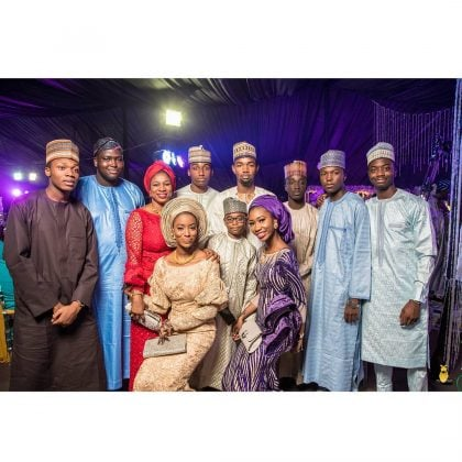 Photo of How Aliko Dangote, other dignitaries stormed Kano for Emir Sanusi's son's wedding (Photos)