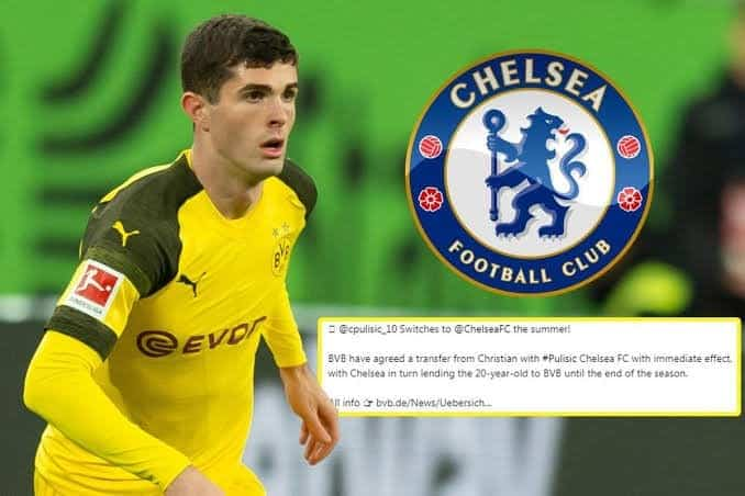 Photo of EPL: Breaking News! Chelsea announces Pulisic signing