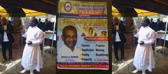 Photo of 2019 prophecies: Popular Prophet reveals Governor, 4 senators that will die soon