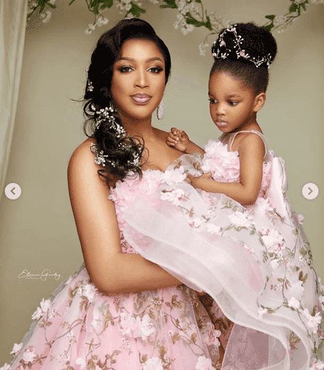 Photo of Dabota Lawson, daughter pose for mother-daughter shoot; Here's the result (Photos)