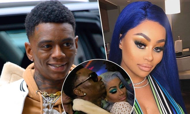 Photo of Blac Chyna and Soulja Boy's relationship is a troll against rapper Tyga