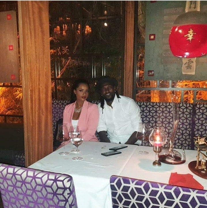 Photo of Dillish Mathews defends Emmanuel Adebayor after troll said money made him cute